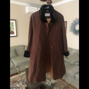 Jackets & Blazers - Women coat manteau size XL